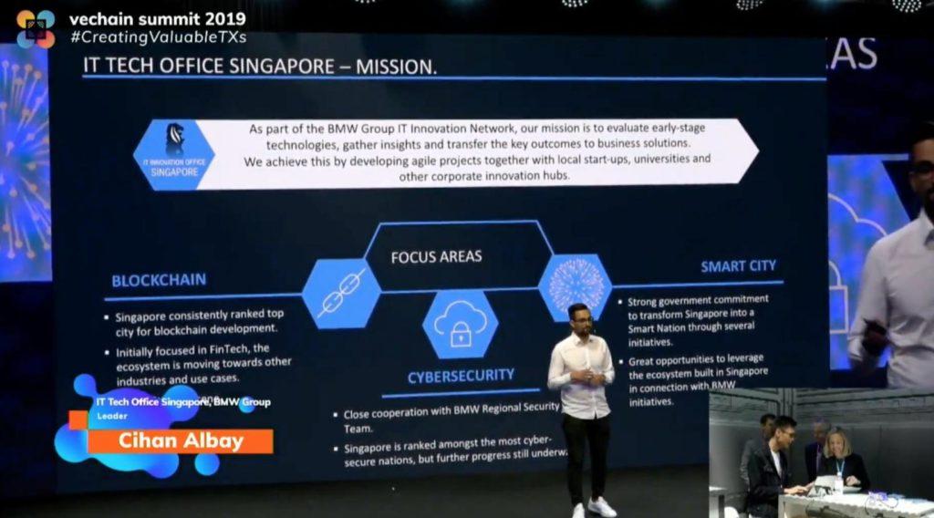 Vechain Summit 2019 Bmw Announces Verifycar Powered By Vechain